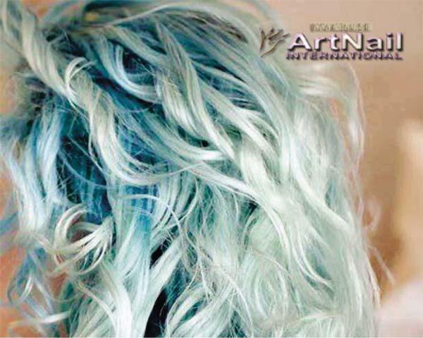 فرمول رنگ موی آبی اقیانوسی